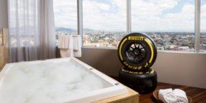 Hilton Mexico City Reforma, McLaren-Honda F1 suite
