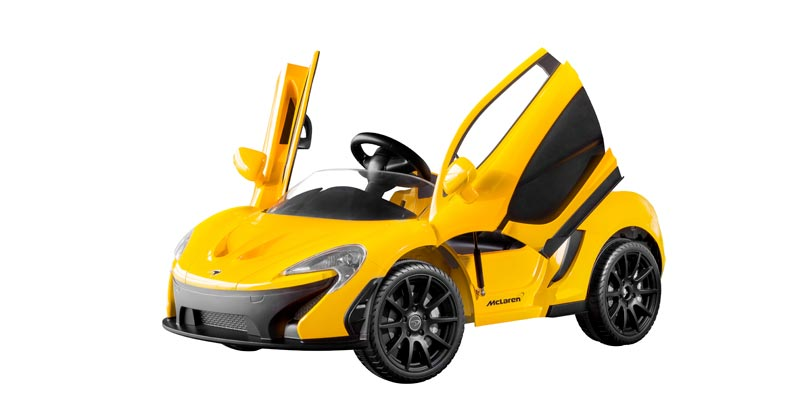 The ride-on McLaren P1