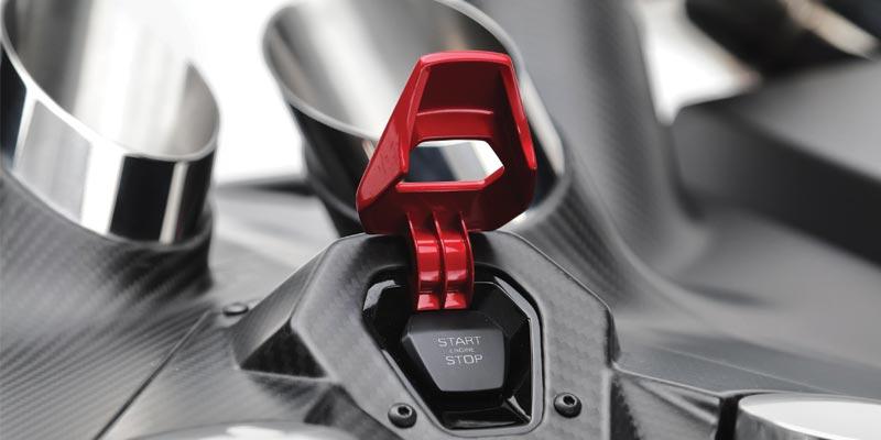 Lamborghini EsaVox carbon fibre docking station speaker