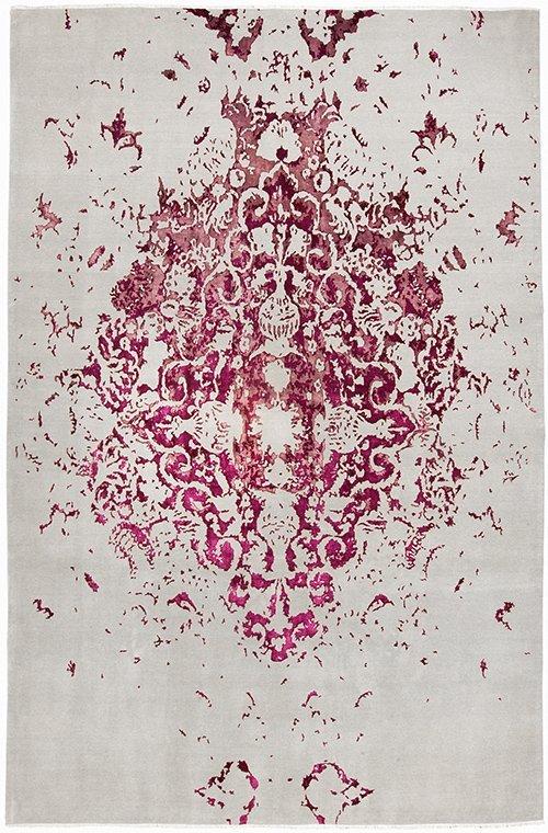 Hossein Rezvani Tabriz Lilac carpet.